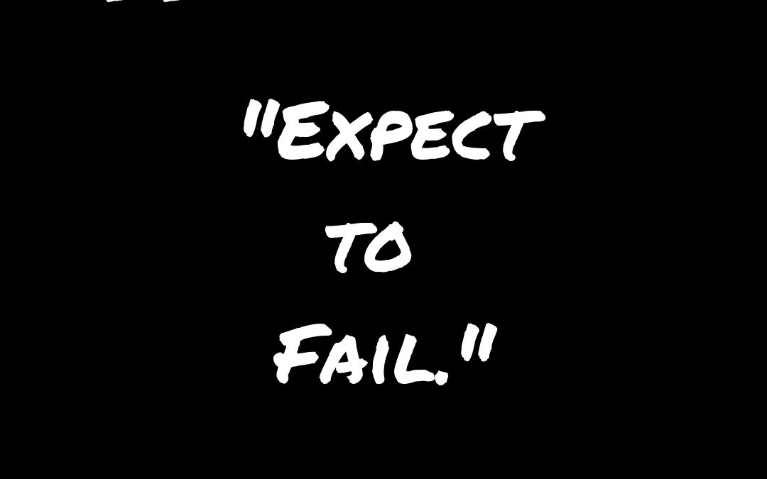 expect to fail in business