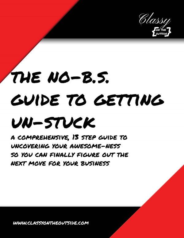 Get your business unstuck