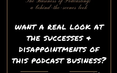 The Business of Podcasting: a behind-the-scenes look