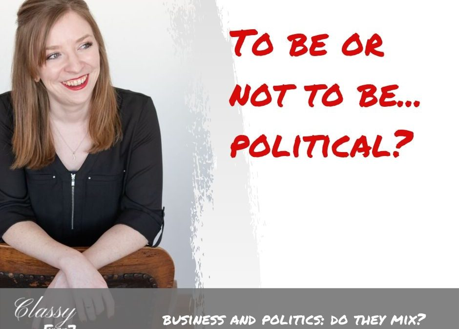 Business and Politics: Do They Mix?