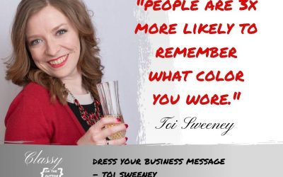 Dress Your Business Message – Toi Sweeney