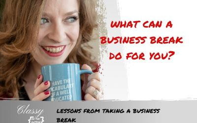Lessons from Taking a Business Break