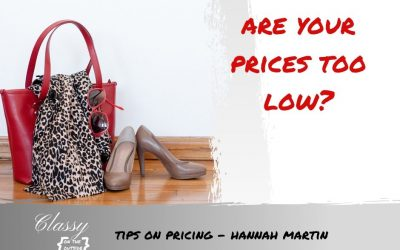 Tips on Pricing – Hannah Martin