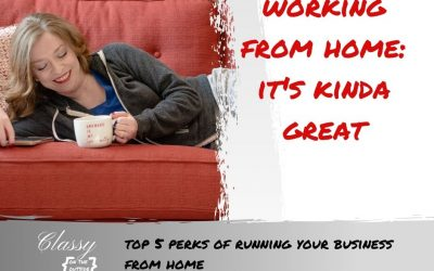 Top 5 Perks of Running Your Business from Home